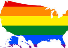 Can you name the place with the highest percentage of LGBTQ people in America?