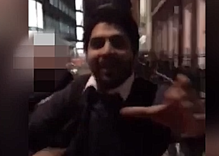 Man who attacked gay couple for holding hands caught on video