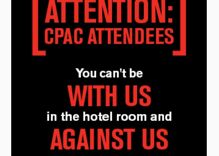 Apparent HRC ad on Grindr targets CPAC attendees