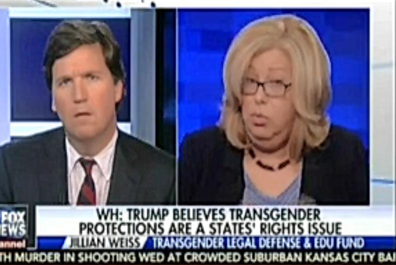 Tucker Carlson invites transgender professor to show, insults her