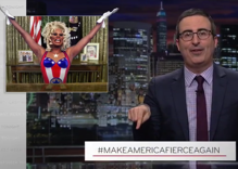 Yaas queen! John Oliver endorses RuPaul for President