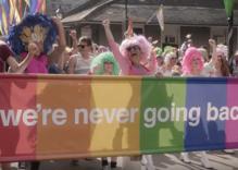 New Orleans held a 'reverse parade' to prove we're never going back