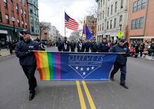 Boston St. Patrick's Day parade marshal will march with gay veterans group