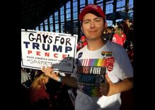 The 'Gays for Trump' guy is running for office & he's dangerous to trans people