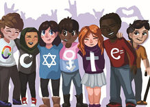 The positive message behind this Google doodle gave us all the feels