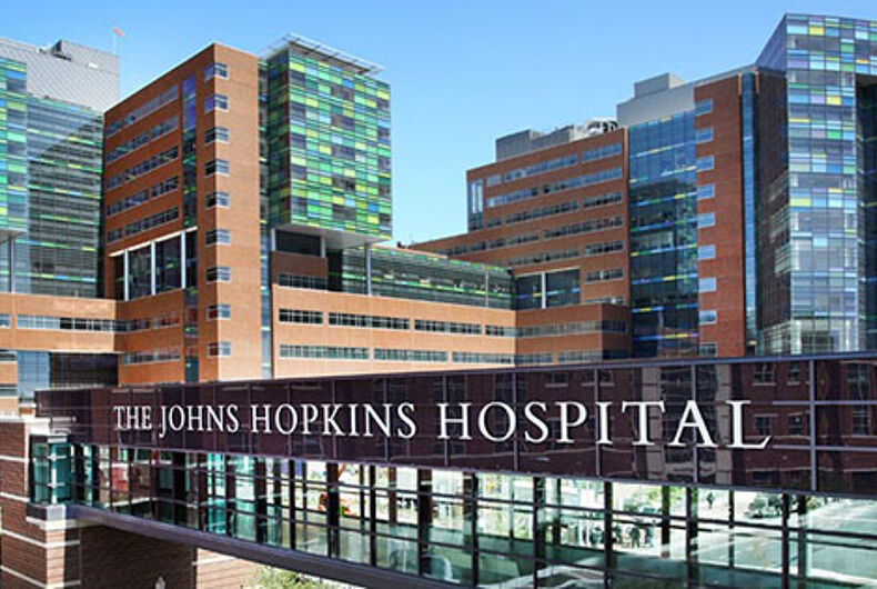 It's a first: Johns Hopkins loses points with HRC for anti-LGBTQ stance