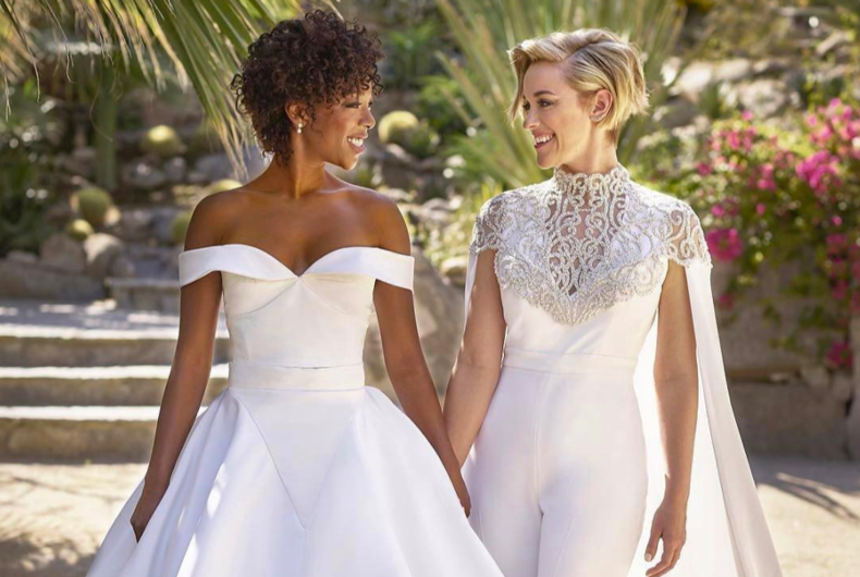 OITNB actress Samira Wiley and writer Lauren Morelli just got hitched