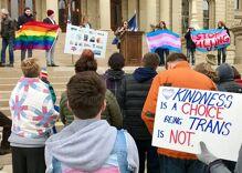 Rallies for transgender rights gain momentum