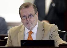 North Carolina Republican Senate leader in hot water over fake headlines
