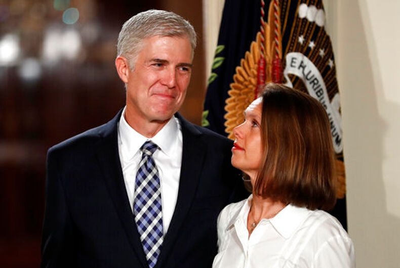 The two faces of Supreme Court justice Neil Gorsuch
