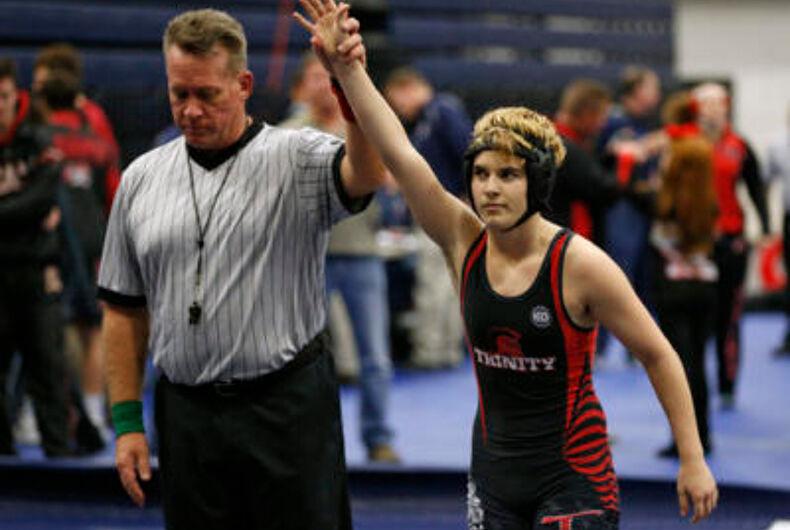Transgender wrestler wins again — this time in court