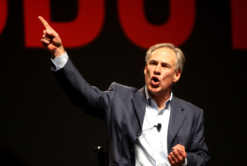 Texas governor breathes new life into 'bathroom bill'