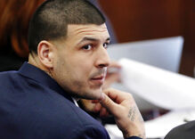 Why did Aaron Hernandez write John 3:16 on his face before committing suicide?