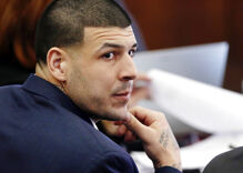 Police sources claim Aaron Hernandez killed friend to hide his bisexuality