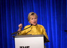 Hillary Clinton slams Trump over fake support for LGBTQ rights