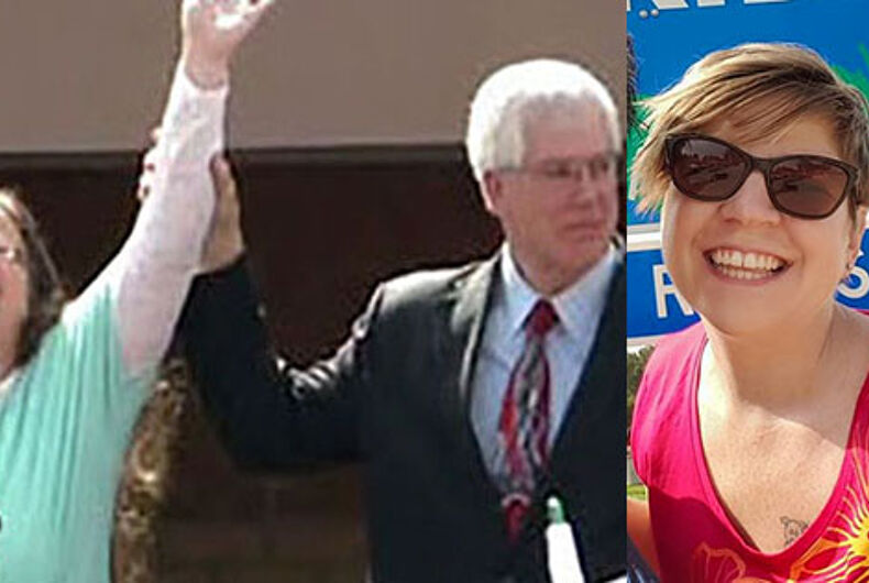 Fla. teacher targeted by Kim Davis's lawyer for promoting LGBTQ 'propaganda'