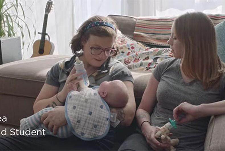 Dove includes trans mom in new inclusive ad campaign about #RealMoms