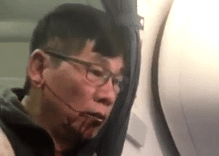 What does the United passenger's sexuality have to do with his treatment?