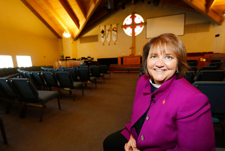 Ruling against lesbian Methodist bishop highlights divisions in the denomination