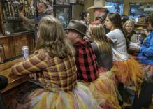 Wyoming men wear tutus in protest of Senator's victim-blaming comments