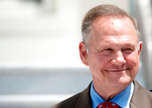 Roy Moore is fundraising off of the molestation allegations against him