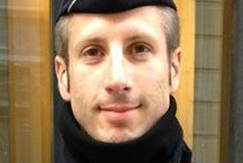 Police officer killed in Paris terrorist attack was out and proud