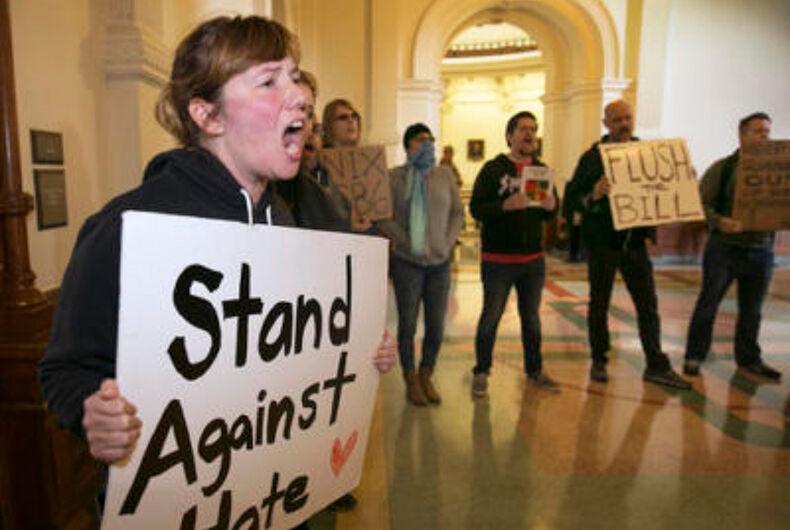 Texas bathroom bill dies after legislature adjourns without action
