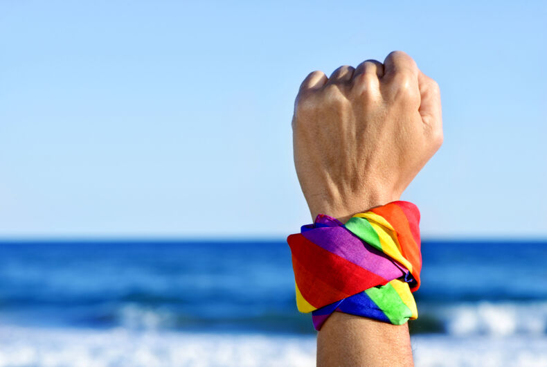 This crazy woman wants to trademark the rainbow because gays have 'raped' it