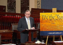 One lone Senator has been talking for over 13 hours to stop Gorsuch nomination