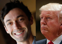 Georgia race could bring Dems first anti-Trump win & he's not taking it well