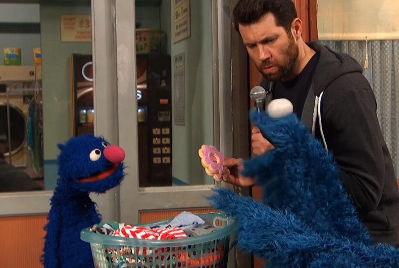Billy Eichner hits Sesame Street in hilarious video