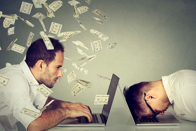 LGBT tech workers get paid considerably less than straight coworkers