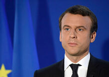The French president denies he's gay for a second time. No, that doesn't mean he is.