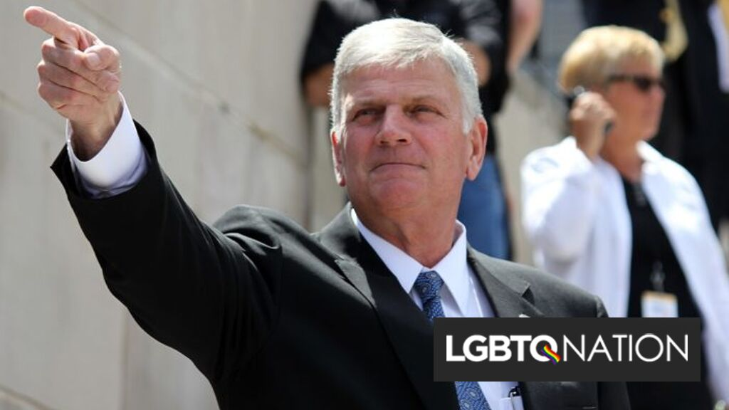 Franklin Graham compares Trump's impeachment to Jesus dying on the cross