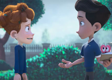 You'll smile watching the story of 2 boys who share a same-sex crush