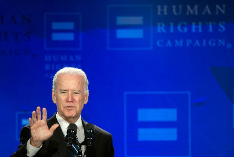 Joe Biden LGBT