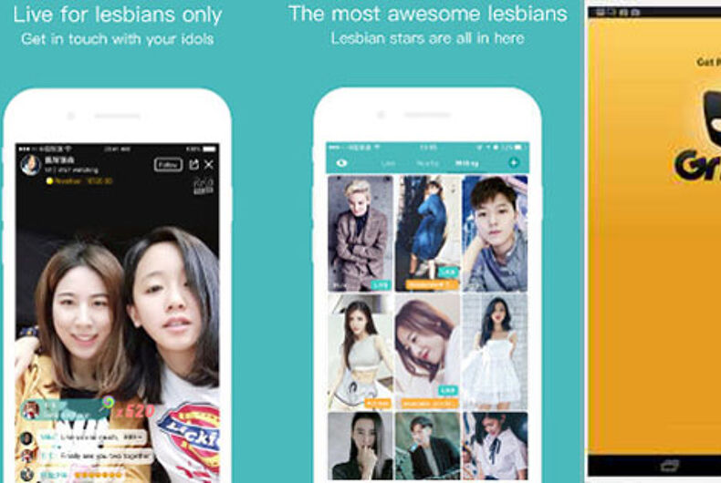 China shuts down leading lesbian app just as Chinese company takes over Grindr