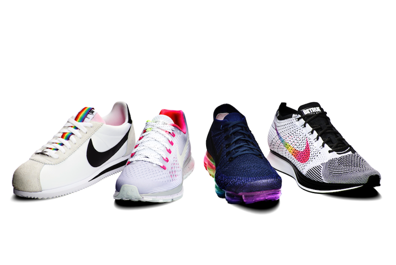 Nike's #BeTrue pride line goes global with throwbacks & high-tech innovations