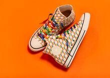 Converse kicks off Pride season with a bold new line of rainbow Chucks