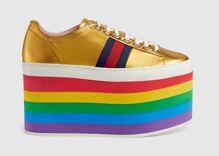 Gucci's new pride-themed sneakers are every fashion queen's dream come true