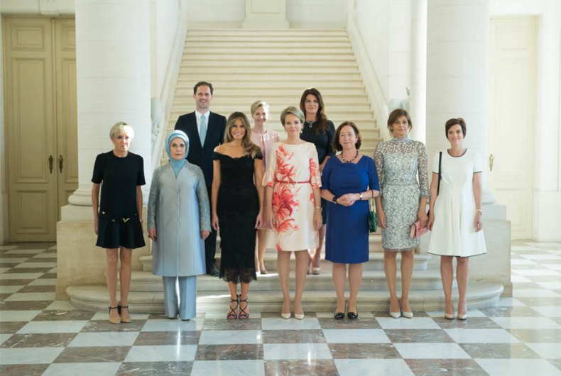 White House omits Luxembourg's gay first gentleman from photo caption