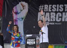 #Resist: Pride marches were a mix of anger & celebration across the country