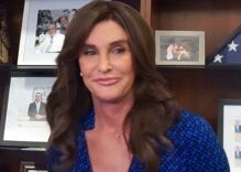 Caitlyn Jenner makes a gay joke about gun violence