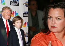New right wing outrage as Rosie O'Donnell tweets about Barron Trump again