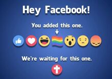 Christians demand Facebook give them a cross reaction in response to pride flag