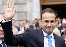 It's official: Leo Varadkar is now Ireland's first gay prime minister
