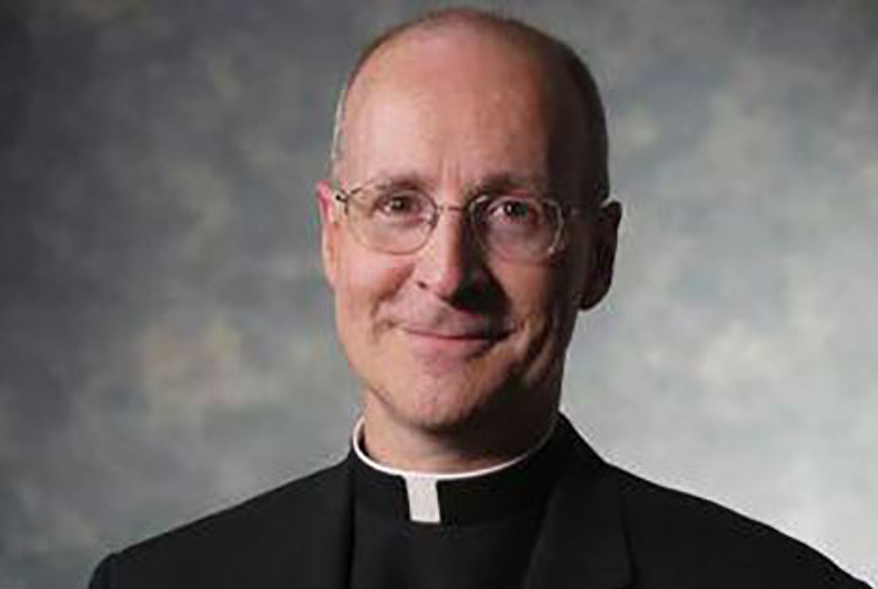The Vatican priest building a bridge between the church & LGBTQ Catholics