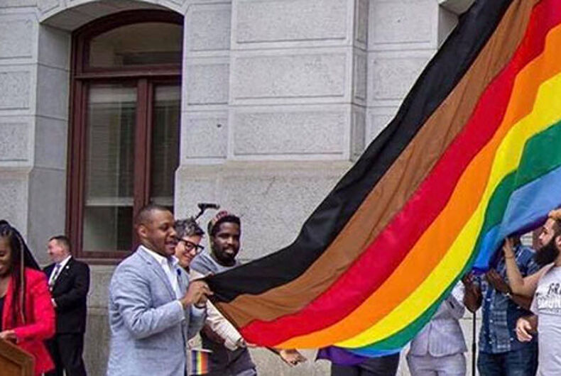 Black & brown stripes are the least of the problems in Philly's Gayborhood