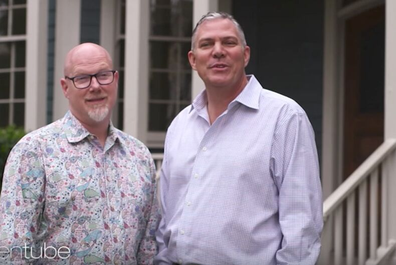 These two gay dads with hearts of gold got a big surprise from Ellen DeGeneres