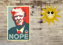 Trump's latest scheme: The sun will pay for the wall